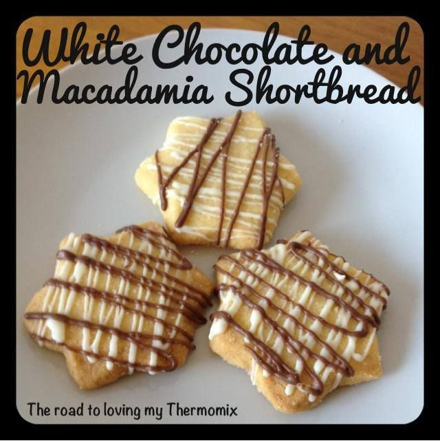 Originally posted to our Facebook page 19th December 2013.   Using my basic Vanilla Bean Shortbread recipe you can make so many variations. This is just one o
