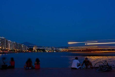 Thessaloniki by night! photo: escapegreece.com
