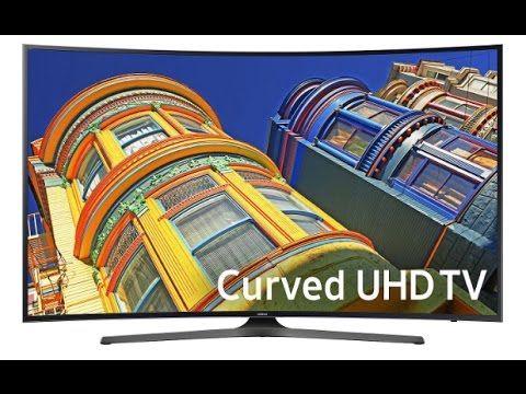 """Samsung UN55KU650D 55"""" Class 4K UHD Curved TV Overview"""