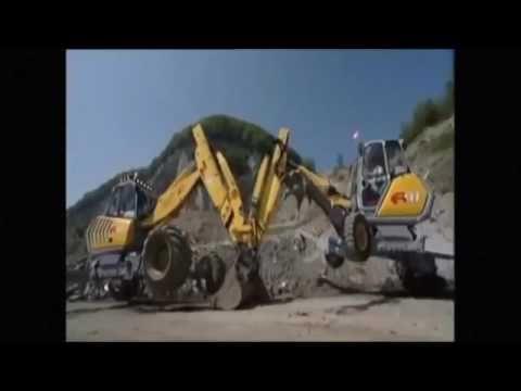 Best Excavator machine Best Operator on heavy Machine in the World