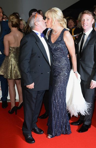 Brendan O'Carroll Jennifer Gibney Photos - Brendan O'Carroll kisses Jennifer Gibney as they attend the National Television Awards at 02 Arena on January 22, 2014 in London, England. - Arrivals at the National Television Awards — Part 2