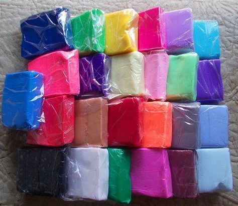 Как сделать полимерную глину в домашних условиях