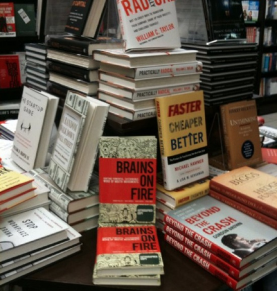 What Makes You Buy a Business Book?