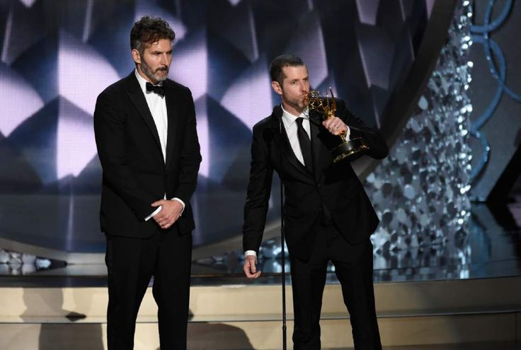 Emmy for Outstanding Writing for a Drama Series - David Benioff and DB Weiss for Game of Thrones