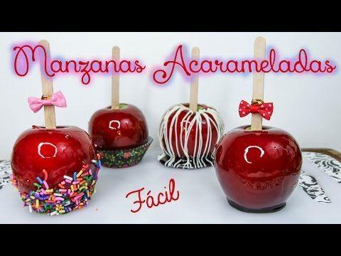 Manzanas Acarameladas - Mi Cocina Rápida - YouTube                                                                                                                                                                                 Más