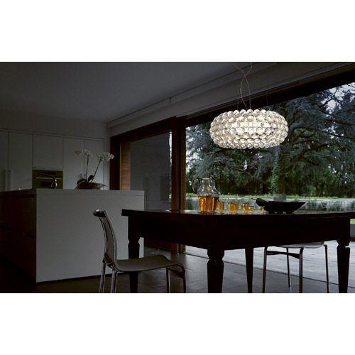 Caboge grande pendel 70 cm, transparent Foscarini - Kjøp møbler online på ROOM21.no
