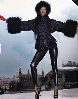 #russia #fur #icon #love #naomi #fashion