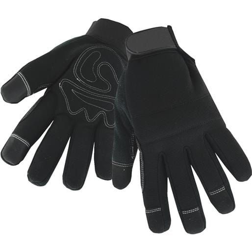 West Chester L Hi-Dex Thin Lng Glove 96580/L Unit: Pair, Black