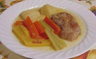 Côtelettes de porc et légumes au presto (autocuiseur)