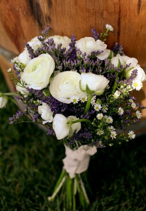 Rustic/Country/Shabby Chic/Boho Hand Tied Wedding Bouquet ...