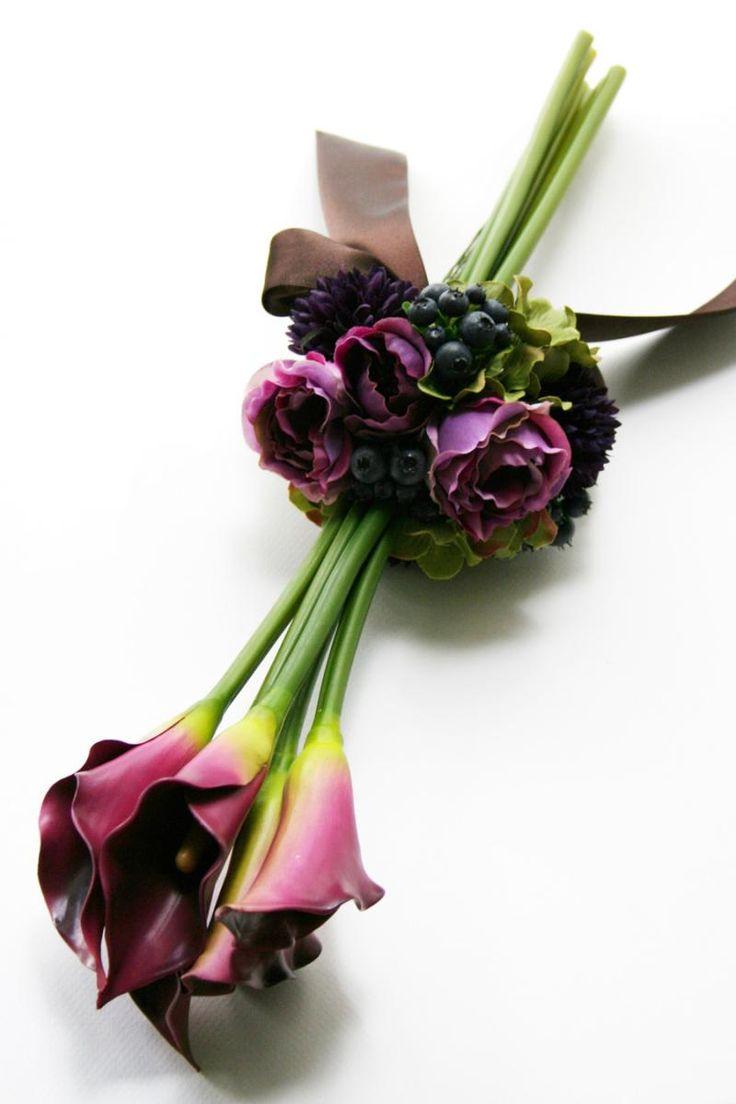 カラーのアームブーケ の画像|kukkaのウェディングフラワーデザインブック[ブーケ・会場装花・花冠]