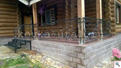 Ограждение кованое Художественная ковка Екатеринбург