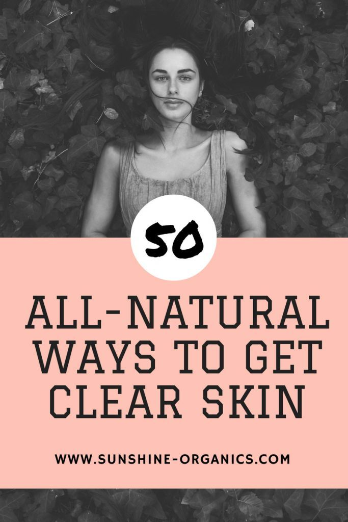 how to keep your skin clear and healthy naturally