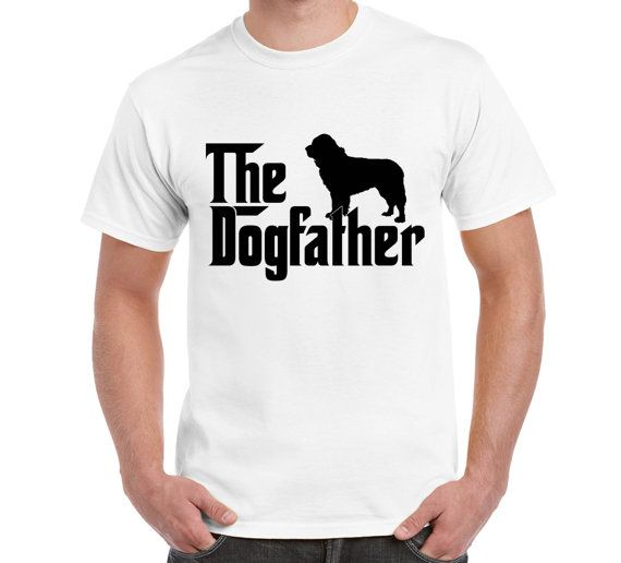 The Dogfather Newfoundland Dog T ShirtTeeT by FreakyTshirtShop