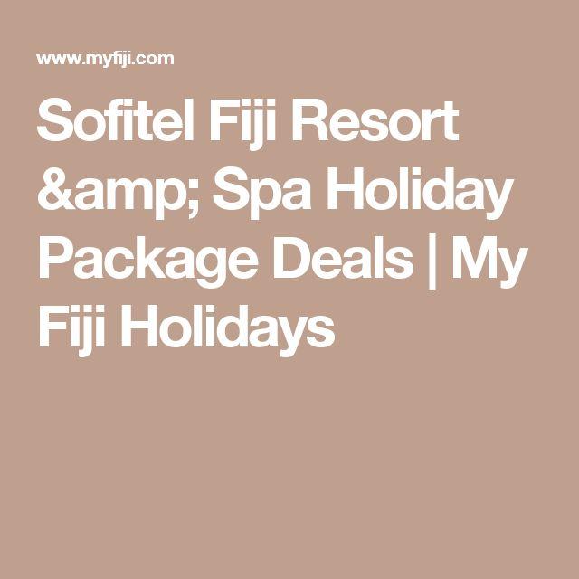 Sofitel Fiji Resort & Spa Holiday Package Deals | My Fiji Holidays