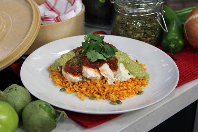 The Marilyn Denis Show | Cooking | Seared Chicken with Pumpkin Seed Sauce