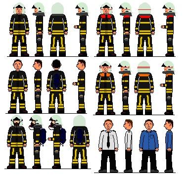 Kleding brandweer