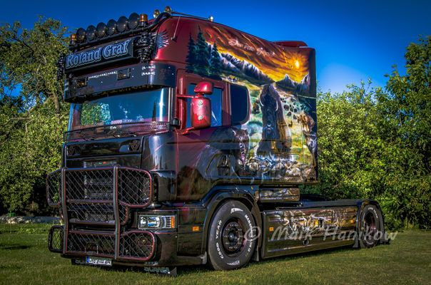 SCANIA V8 Longliner by Roland Graf – Truck`s