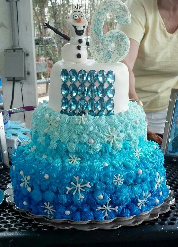 ... Frozen on Pinterest  Frozen birthday cake, Birthday cakes and Disney