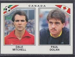Image result for mexico 86 panini canada mitchell