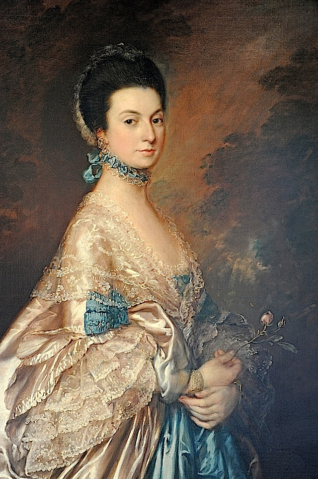 Mrs. Edmund Morton Pleydell, c. 1765, by by Thomas Gainsborough (English, 1727-1788).