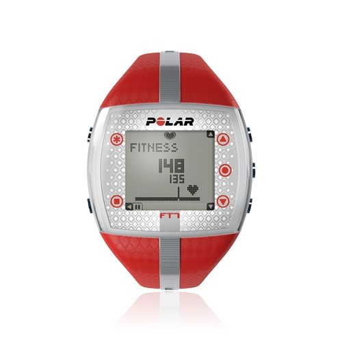 Polar FT7 heart rate monitor who want to know if they're improving their fitness or burning fat. Available in 4 amazing colors. €106 #Polar #heart_rate_monitor #heart