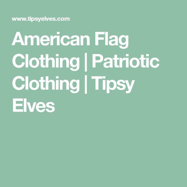 American Flag Clothing | Patriotic Clothing | Tipsy Elves