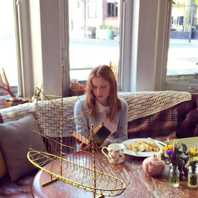 We are doing AW15 Campaign shooting at Dog and Fox Hotel Wimbledon sneak peek of #misspatina aw15 collection #editorial