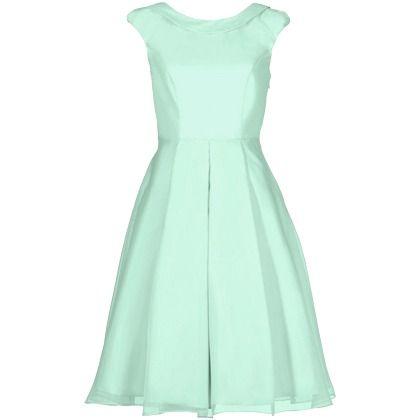 Süßes mintfarbenes Kleid 159,00 € <3 Hier kaufen:  http://www.stylefru.it/s64971 #Rundhalsausschnitt #Petticoat #Mode