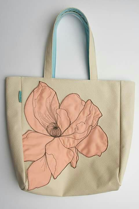Tote bag Rose Poppy