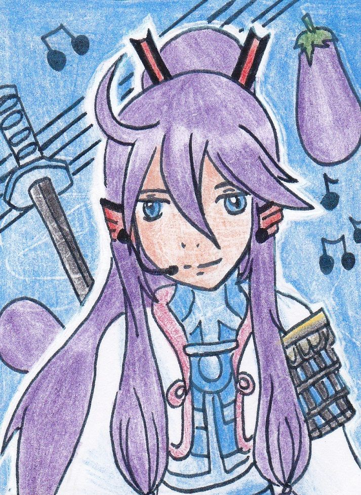 A drawing of the #vocaloid #gakupo