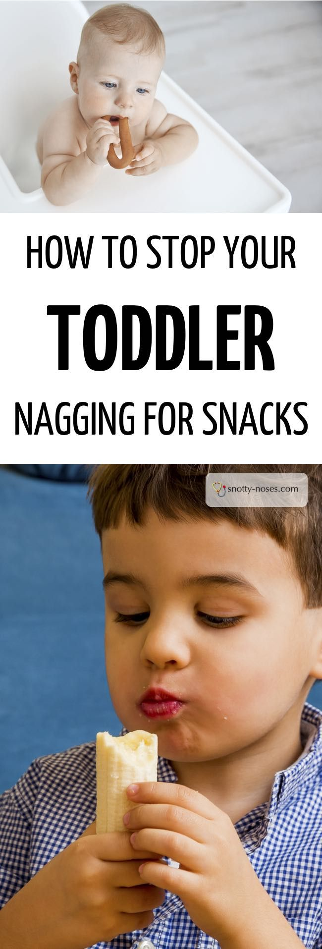 How to Stop Your Toddler or Kids Nagging for Snacks
