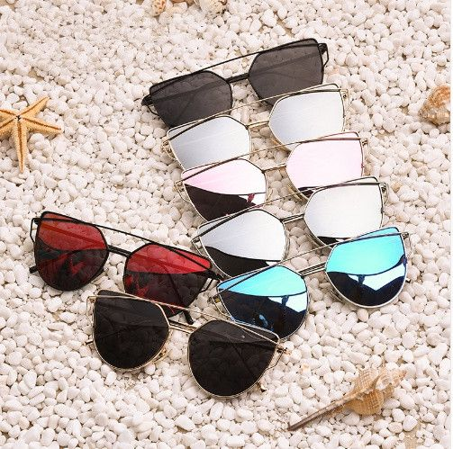 Polarized Sunglasses Women Fashion Summer Style Sun glasses for Women Vintage Classic Brand Designer Twin-Beams Shades