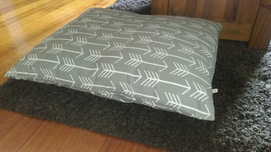Dog Bed Cover fits 2 x human pillows. Looks great + so comfy Ebay: sewdyandy