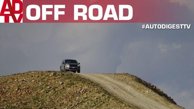 A 3000 metri con la Land Rover Discovery Sport