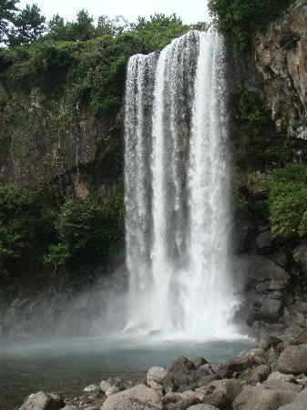 Jeongbang Waterfall- Seogwipo, Jeju