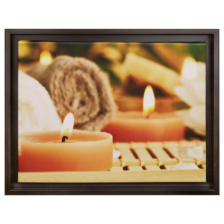 Framed Art - Warm candles