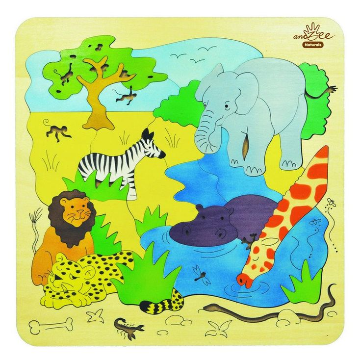 36 piece flat naturals puzzle - 30cm x 30cm. Our Wooden Puzzles are bright, colourful and fun with designs and concepts to cover all ages and interests. All products are made from Eco-friendly renewable resources, sourced from properly managed plantations.