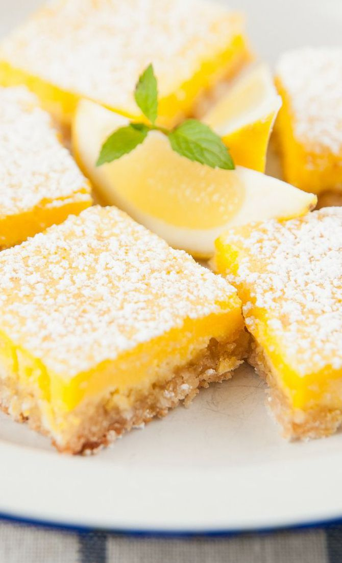 The Best Lemon Bars Recipe | Recipes | Pinterest