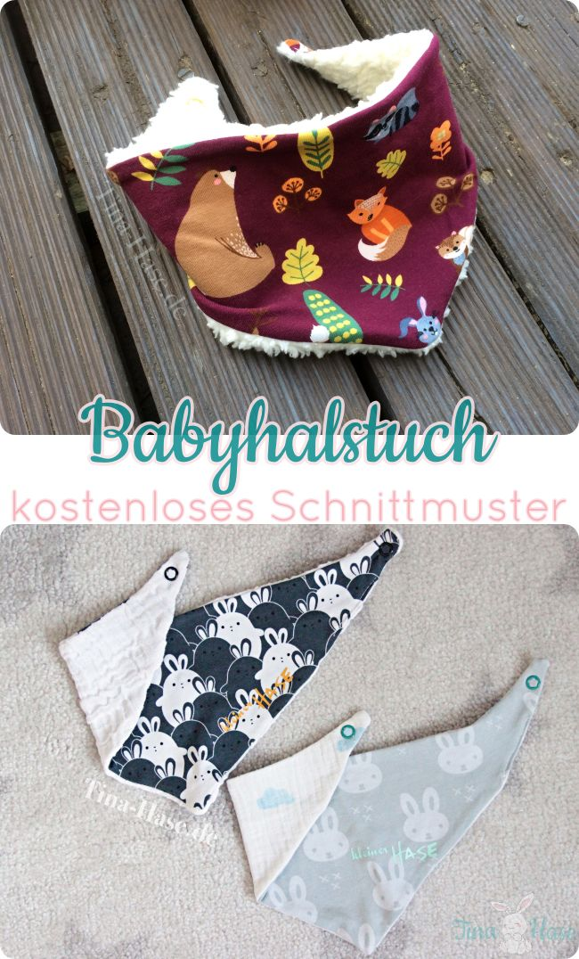 Nähe das ultimative Halstuch für Babys selber! …