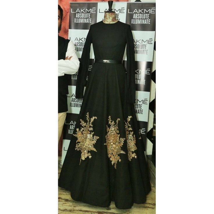 New Arrival Black Color Heavy Embroiderey Work Semi Stitch Gown at just Rs.1755/- on www.vendorvilla.com. Cash on Delivery, Easy Returns, Lowest Price.