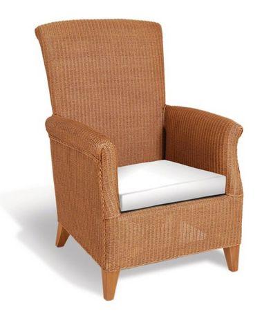 Lloyd Loom Arm Chair in Honey - £715.00 - Hicks and Hicks