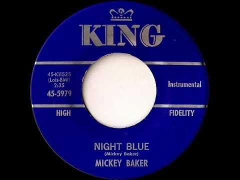 Mickey Baker - night blue