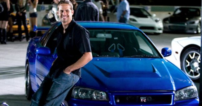Paul Walker's R34 Skyline for sale