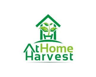 At Home Harvest Logo design - Deciphering about the growth and stability of the company. Price $200.20