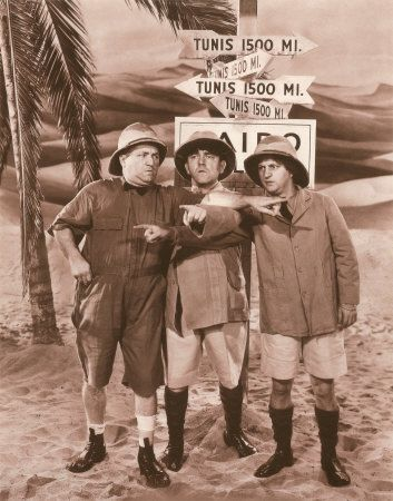 Three Stooges in 'We Want Our Mummy'