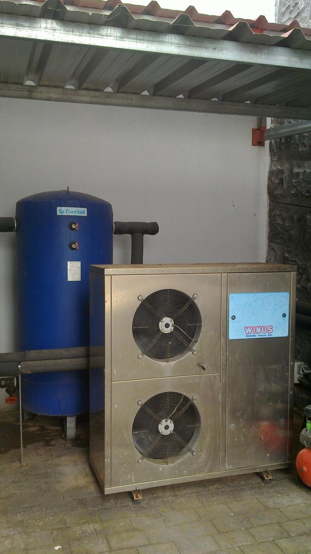 Winus 20 con depósito pulmón y central de bombeo instalado en Bodegas La Palmera (Tenerife)