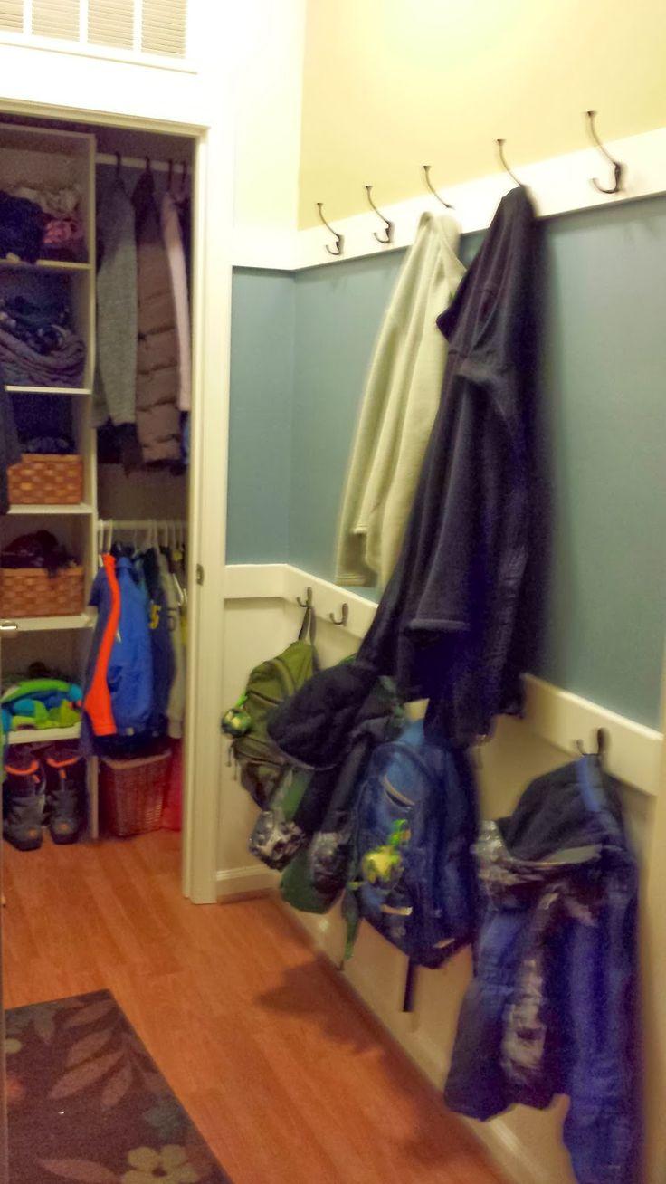 Ryan Homes Take 2 - Rome Model 2012: Mud Room, Pantry, Main Hallway, Loft changes/updates
