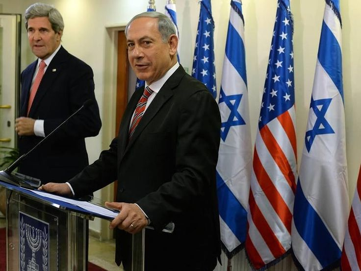 PM Netanyahu meets with US Sec of State Kerry