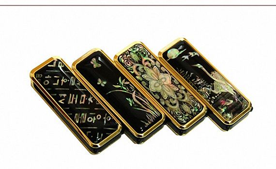 Mother of pearl unique  4 designs USB 2.0 Flash Drive Memory stick 4GB